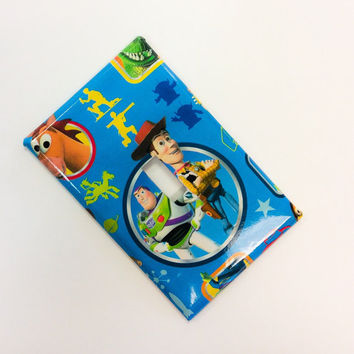 Toy Story Light Switch Cover, Woody Switchplate,Buzz Light Year Switchplate