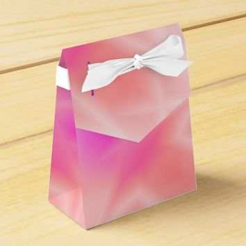 Pink Splash Favor Box