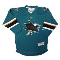 San Jose Sharks Reebok Child Replica (4-6X) Home NHL Hockey Jersey