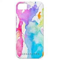 Rainbow Splash iPhone 5 Case from Zazzle.com