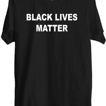 Black lives matter T-shirt-Black lives matter Tee- Black T-shirt- save Lives Tshirt