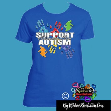 Support Autism Awareness Shirts