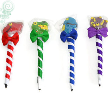 Dinosaur Lollipop Pen, Dino, Dinosaur, Candy, Lollipop, Pen, Dinosaur Birthday, Dino Birthday, Favor, Birthday Favor, Boy, Dinosaur Favor