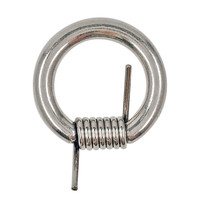 6G 5/8 316L Steel Barbwire Captive Ring