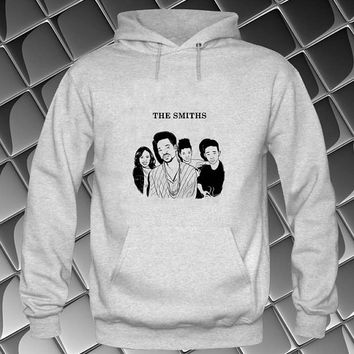 the smiths Hoodies Hoodie Sweatshirt Sweater white and beauty variant color Unisex size