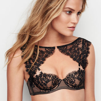 d70db4d938 Lace High-neck Demi Bra - Very Sexy - from Victoria s Secret