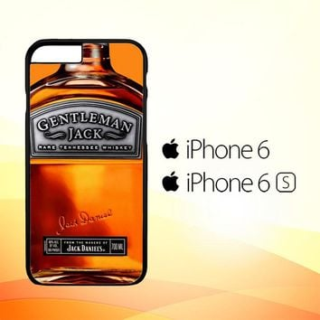 Gentleman Jack Daniels Rare Tennessee Whiskey L2167 iPhone 6|6S Case