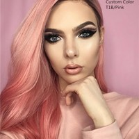 Pink Lemonade - Virgin Remy Human Hair Lace Wig - UniWigs ® Official Site