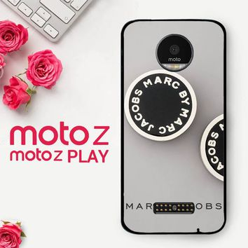 Marc Jacobs Logo X4230  Motorola Moto Z Play Case