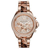 Michael Kors Ladies' Wren Tortoise Watch - Tortoise