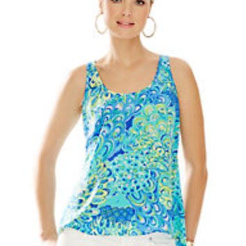 Aerial Flowy Tank Top - Lilly Pulitzer