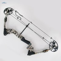 Archery Hunting Compound Bow Right Hand Bow Camo 30inch 20-70lbs  Equipment Bow