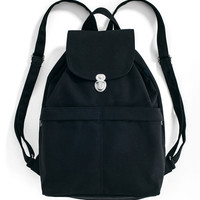 Canvas Backpack: Black