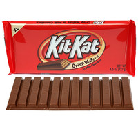 Kit Kat 4.5-Ounce Jumbo Candy Bars: 12-Piece Box