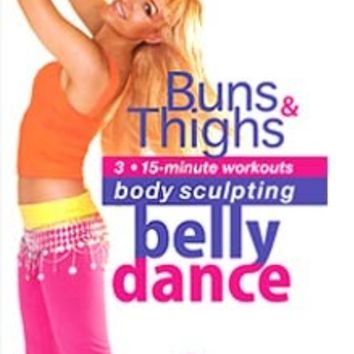"""Belly Dance for Body Sculpting: Buns and Thighs"" Workout DVD with Neon"