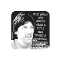 "NAPOLEON DYNAMITE ""Throw A Football Over Mountains"" - Uncle Rico - Hardwood Coaster - Original and unofficial design - Film / Movie Themed"