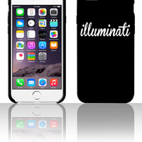 Illuminati 5 5s 6 6plus phone cases