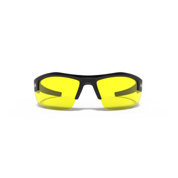 Under Armour Reliance Sunglasses Satin Black / Yellow