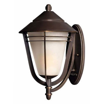Hinkley 2289MTGU24 Aurora Metro Bronze One Light Extra Large Wall Outdoor Lantern