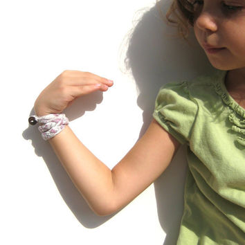 Fabric Bracelet for girls tweens and women by SmiLeaGainCreations