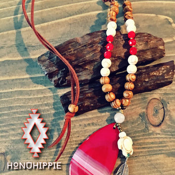 Boho Hippie beach jewelry, Honu Sea Turtle necklace