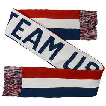 Licensed Sports Team USA Jacquard Scarf - Red/White KO_20_2