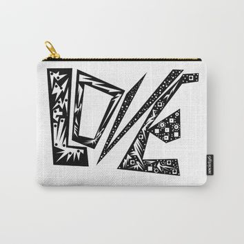 Only Love Carry-All Pouch by Azima
