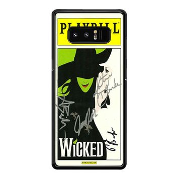Playbill Gershwin Theatre Samsung Galaxy Note 8 Case