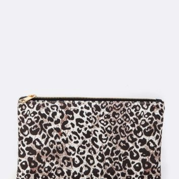 Everyday Animal Print Pouch