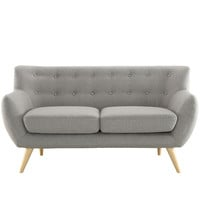 Remark Loveseat in Light Gray