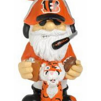 """Cincinnati Bengals NFL Garden Gnome 11"" Thematic - Second String"""