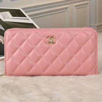 PEAPUF3 CHANEL Fashion Women Wallets Zipper Wallet Women Long Design Purse G-LLBPFSH