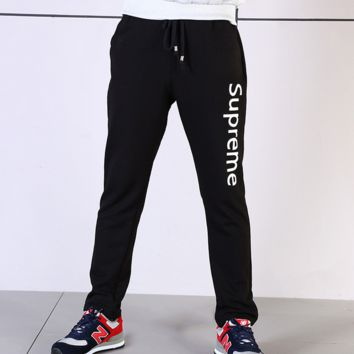 Supreme Fashion Unisex Casual Sport Pants Sweatpants
