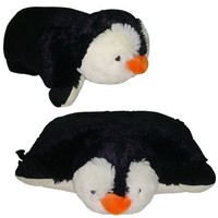 "SMALL PENGUIN PILLOW PET, ""PLUSH & PLUSH"" BRAND, 11"""