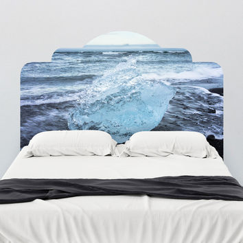Paul Moore's Icelandic Beach Adhesive Headboard wall decal