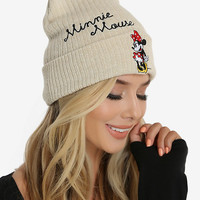 Disney Minnie Mouse Cuff Beanie - BoxLunch Exclusive