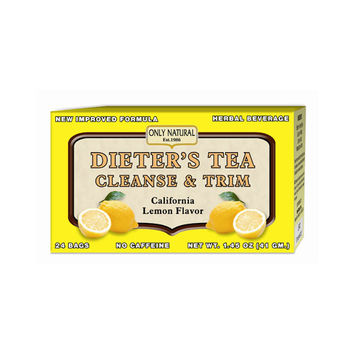Only Natural Cleansing Diet Tea - Lemon - 24 Bags