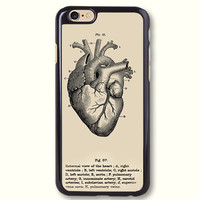 Anatomy Heart Images Vintage Graphics Protective Phone Case For iPhone case & Samsung case, 50373