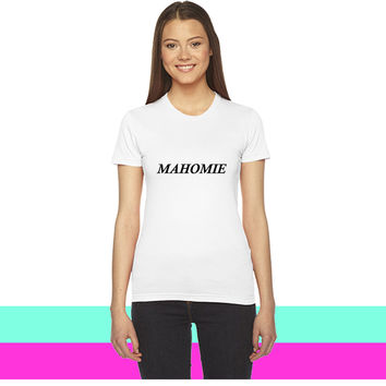 MAHOMIE_ women T-shirt