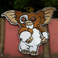 Gremlin iron on patch E035 by happysupply on Etsy