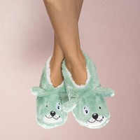 Dog Tired Slippers By Faceplant Dreams Small