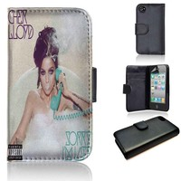 Cher Lloyd Sorry I'm Late | wallet case | iPhone 4/4s 5 5s 5c 6 6+ case | samsung galaxy s3 s4 s5 s6 case |