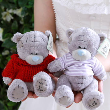 Cartoon Plush Teddy Bear Toys Jumbo Me Stuffed Dolls Birthday To You Bears Valentines for Baby&Kids Christmas Gift i pcs