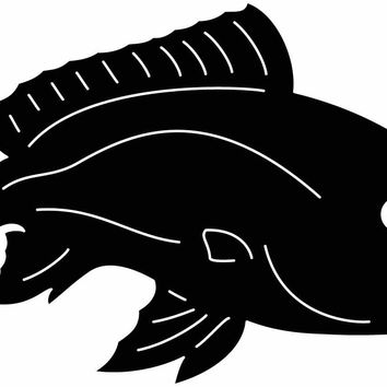 Red Fish Free DXF file