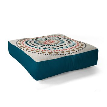 Zoe Wodarz Rise with the Sun Floor Pillow Square