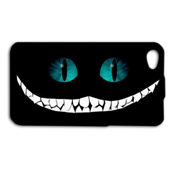 Funny Cheshire Cat Smiling Custom Case for iPhone 5/5s and iPhone 4/4s