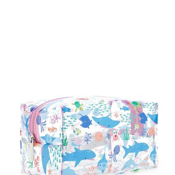 Sea Creatures Clear Makeup Bag