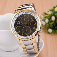 Comfortable Vintage Fashion Quartz Classic Watch Round Ladies Women Men wristwatch On Sales = 4661819140