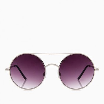 MARCEL SUNGLASSES IN SILVER