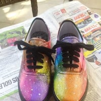 Rainbow Galaxy Shoes
